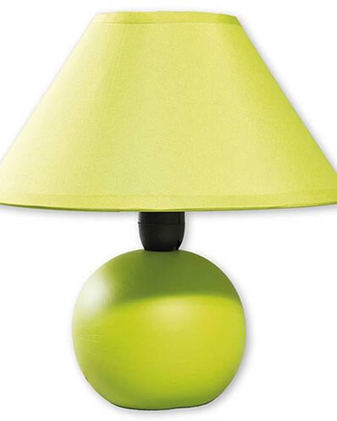 Zelená stolová lampa Rabalux