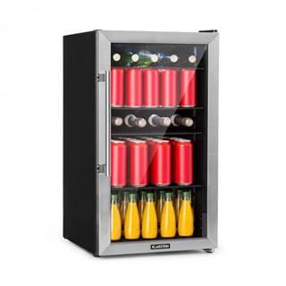 Klarstein Beersafe 3XL, chladnička, 98 l, 4 zásuvné police, 7 úrovní, čierna