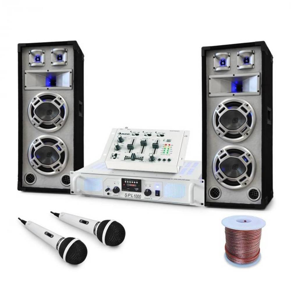 """Electronic-Star Electronic-Star DJ PA set """"Polar Bear"""", mixážny pult, zosilňovač reprá 2200W"""