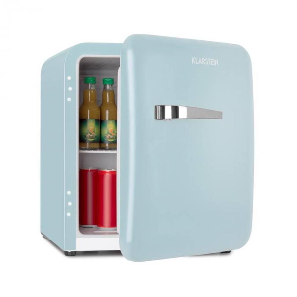 Klarstein Klarstein Audrey Mini, retro chladnička, 48 l, 2 úrovne, A+, modrá