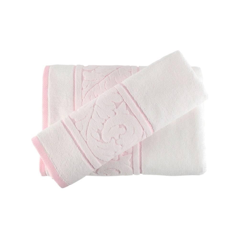 Hobby Sada bieleho uteráku a osušky Sultan
