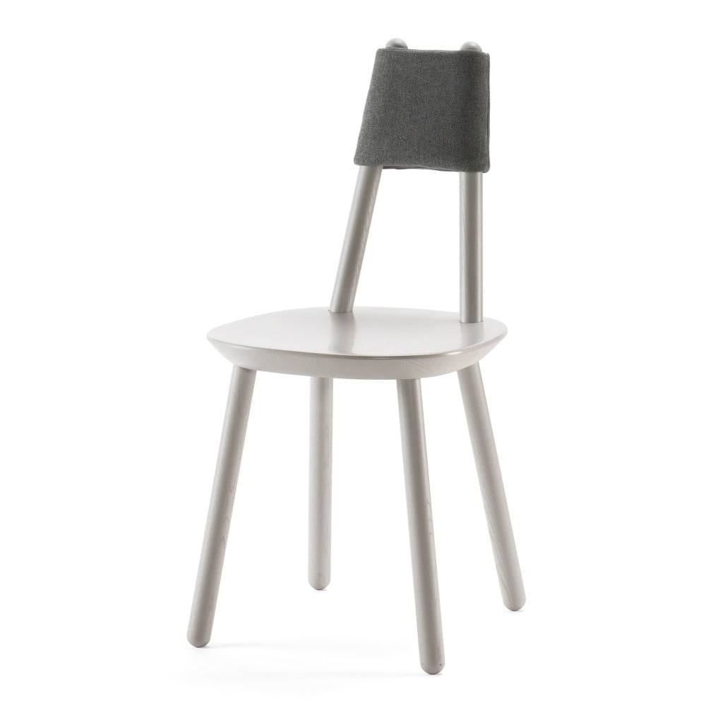 EMKO Sivá stolička z masívu EMKO Naïve