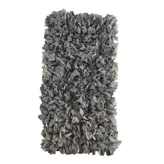 Sivý koberec Geese Fluffy, 120×60 cm