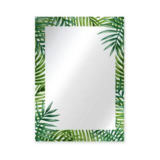 Nástenné zrkadlo Surdic Espejo Decorado Monstera, 50×70 cm