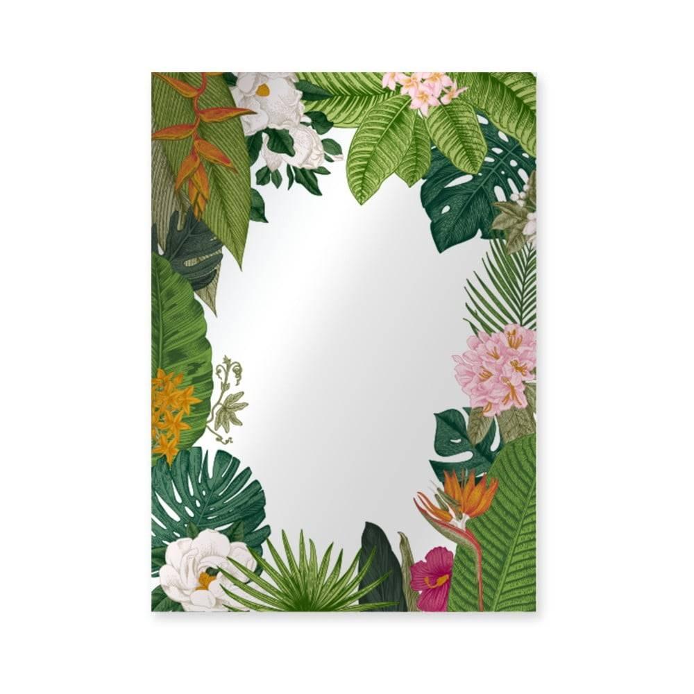 Surdic Nástenné zrkadlo Surdic Espejo Decorado Tropical Frame, 50×70 cm