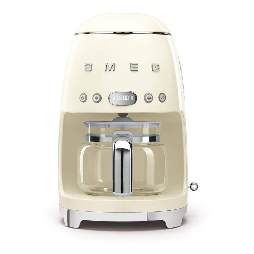 SMEG Krémovo-biely kávovar na filtrovanú kávu SMEG