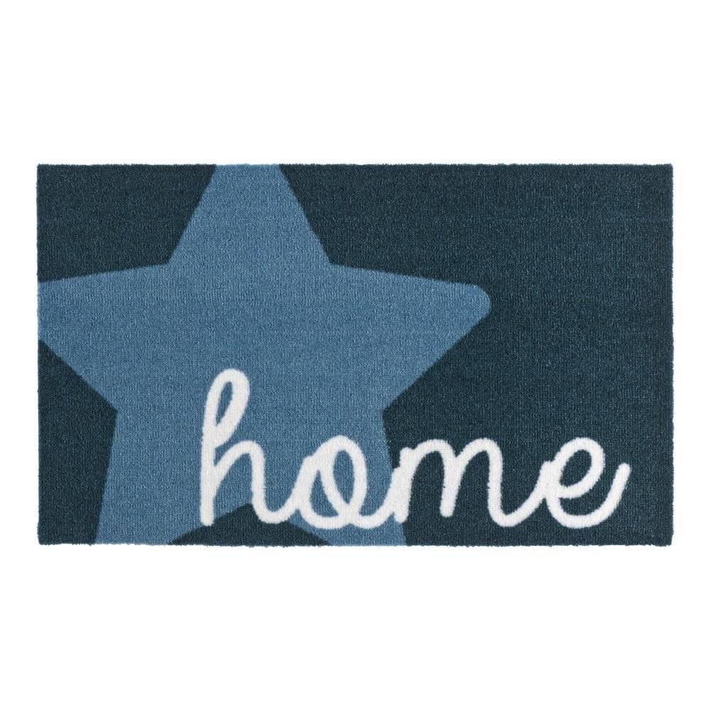 Zala Living Modrá rohožka Zala Living Design Star Home Blue, 50×70cm
