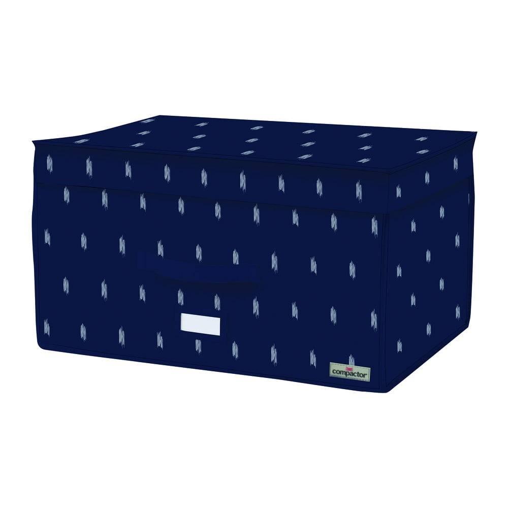 Compactor Tmavomodrý úložný box Compactor Trunk Kasuri, 150 l