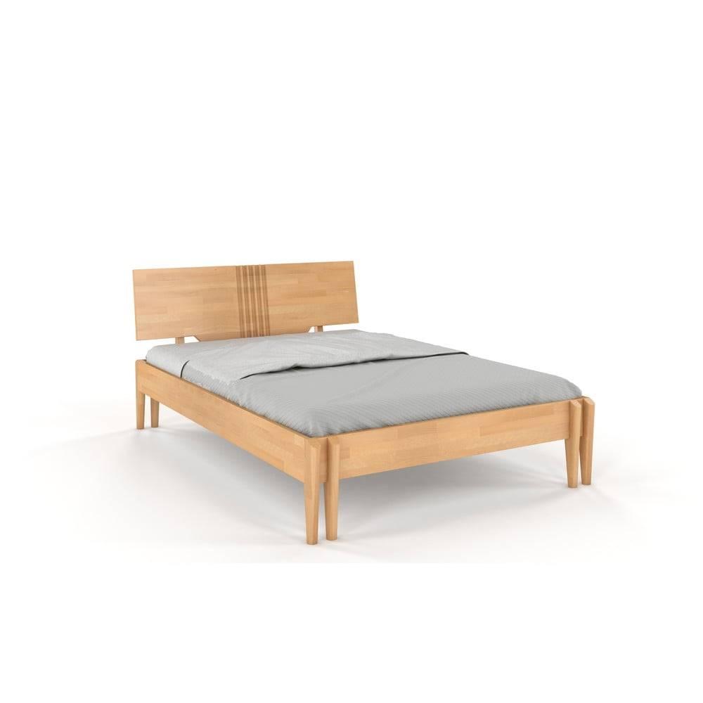 Skandica Dvojlôžková posteľ z bukového dreva Skandica Visby Poznan, 180 x 200 cm