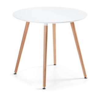 Jedálenský stôl z bukového dreva La Forma Daw, 73×100cm