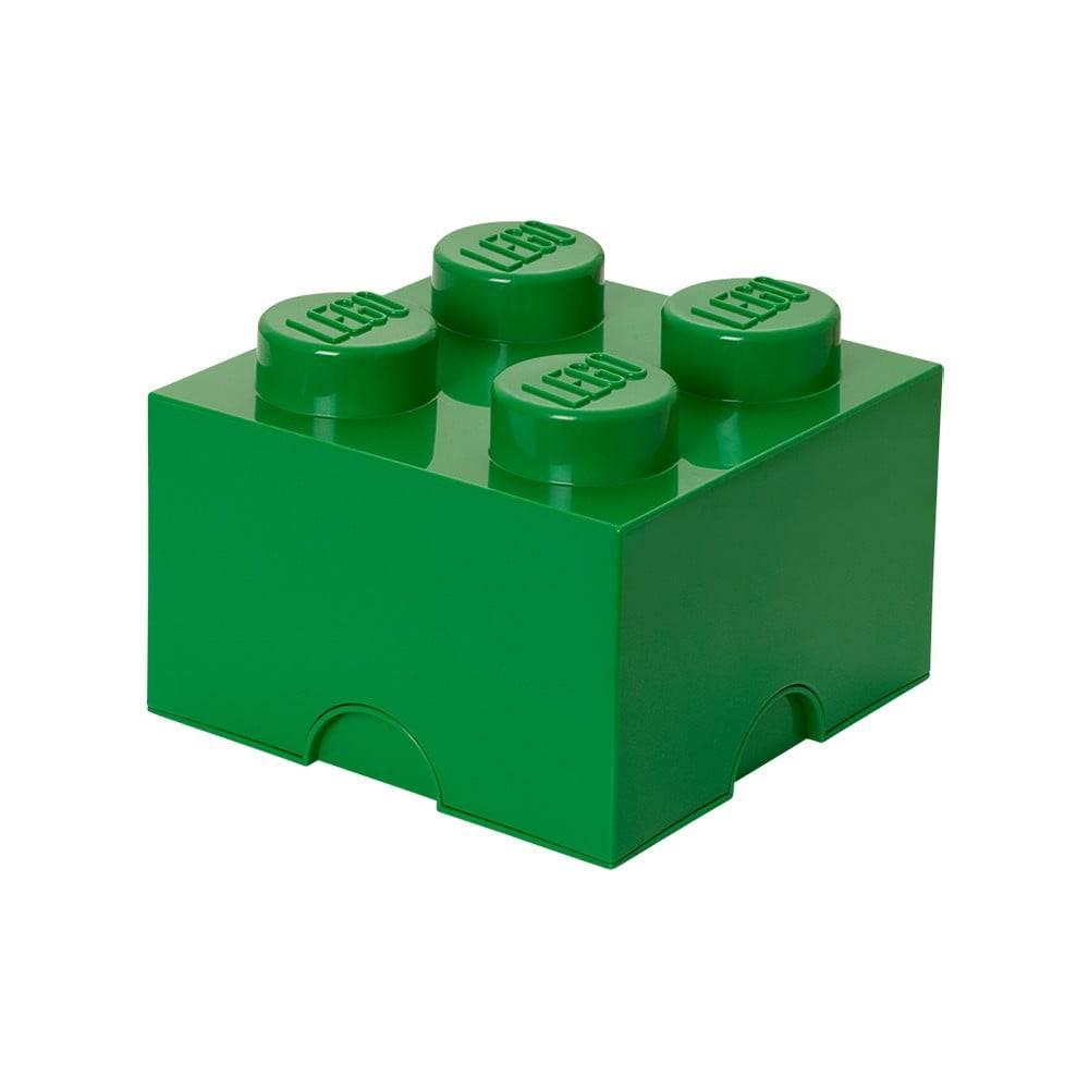 LEGO® Zelený úložný bo× štvorec LEGO®