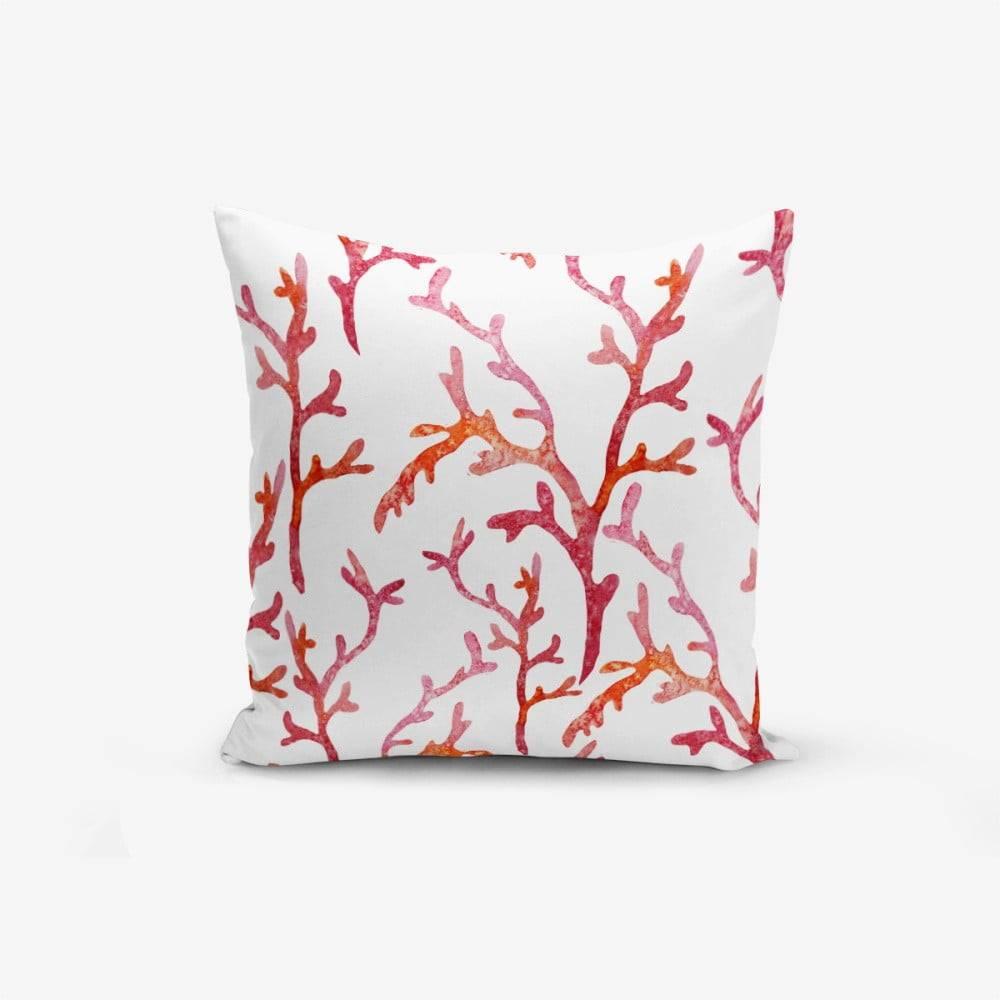 Minimalist Cushion Covers Obliečka na vankúš s prímesou bavlny Minimalist Cushion Covers Sea Plant, 45×45 cm