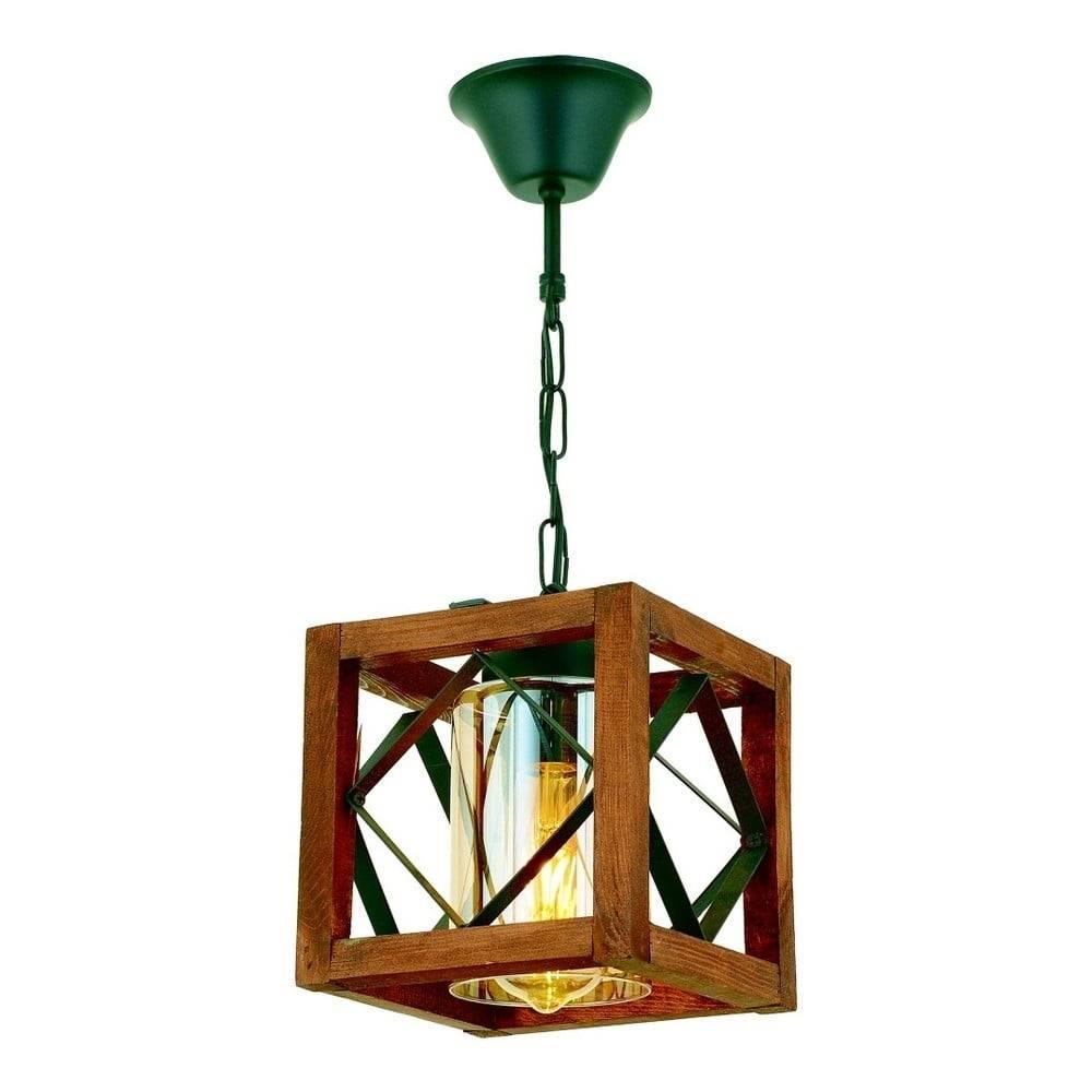 Beacon Závesné svietidlo z hrabového dreva Zikzak Camlı
