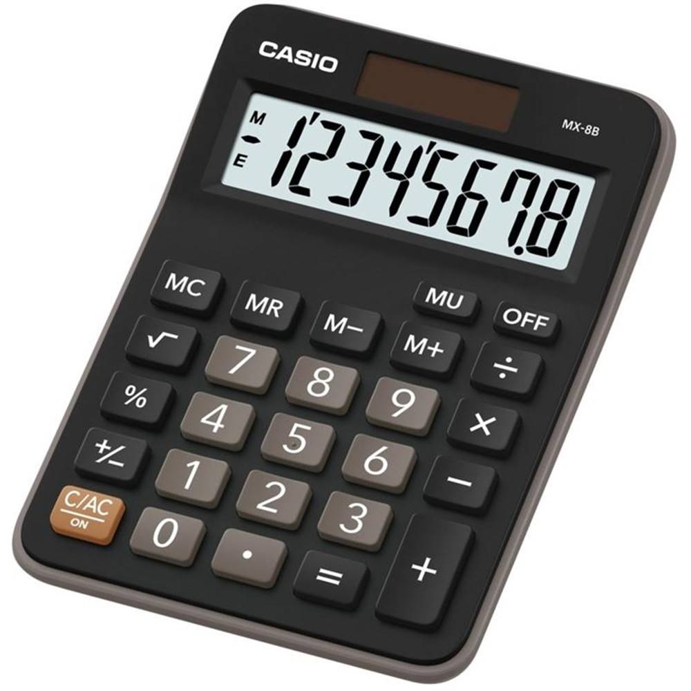 Casio Kalkulačka Casio MX-8B BK čierna