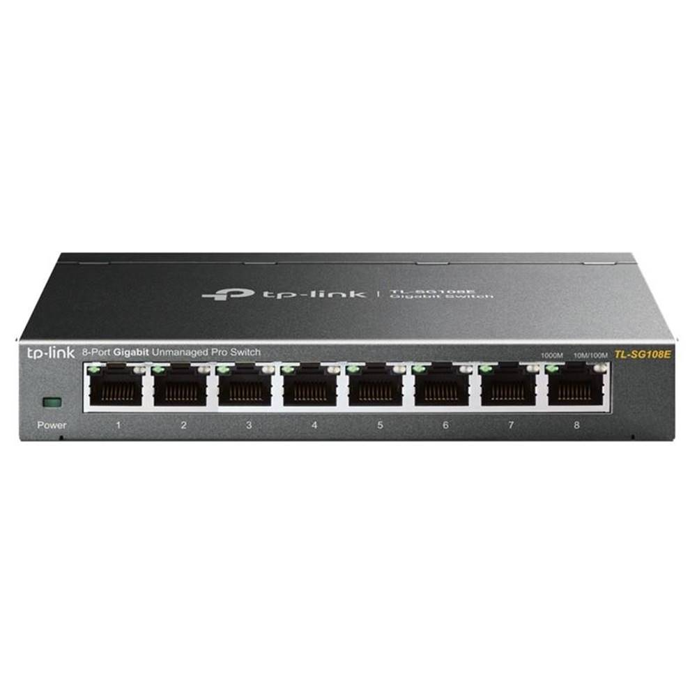 TP-Link Switch TP-Link TL-SG108E Gigabit  8 port, Gigabit