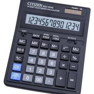 Kalkulačka Citizen SDC-554S strieborná