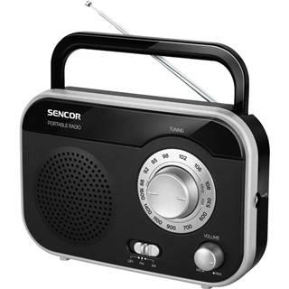Rádioprijímač Sencor SRD 210 BS čierny/strieborn