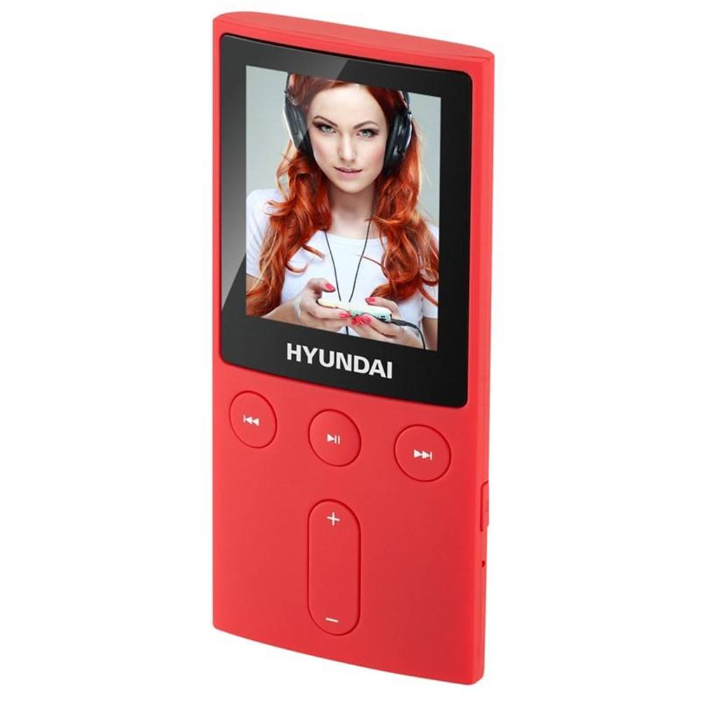 Hyundai MP3 prehrávač Hyundai MPC 501 GB4 FM R červen