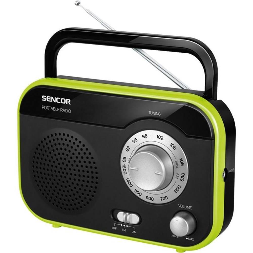 Sencor Rádioprijímač Sencor SRD 210 BGN čierny/zelen