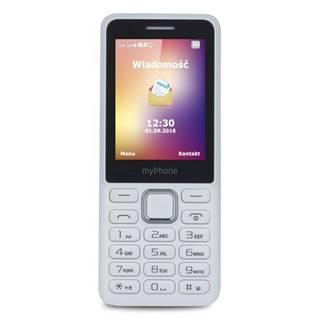 Mobilný telefón myPhone 6310 Dual SIM biely