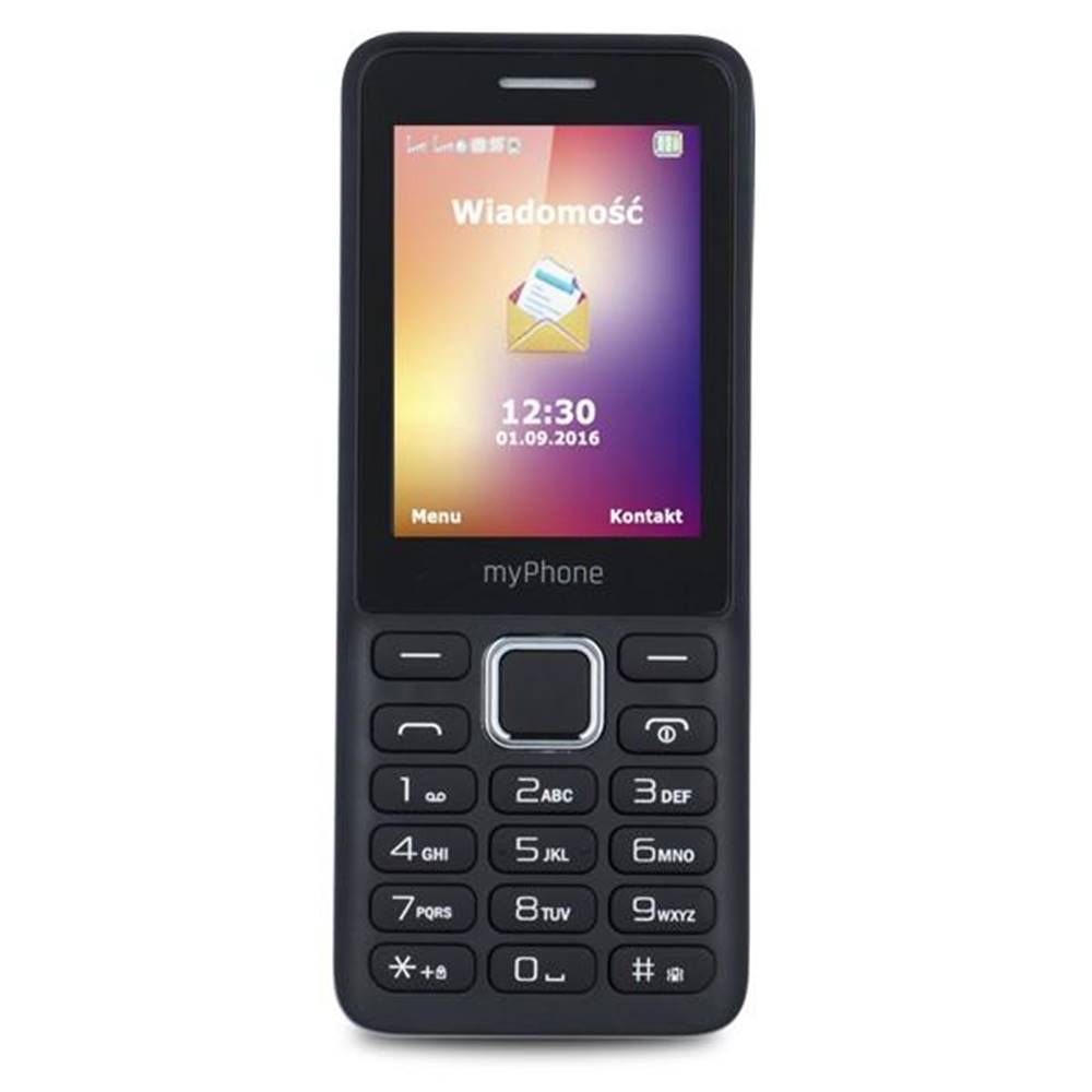 myPhone Mobilný telefón myPhone 6310 Dual SIM čierny