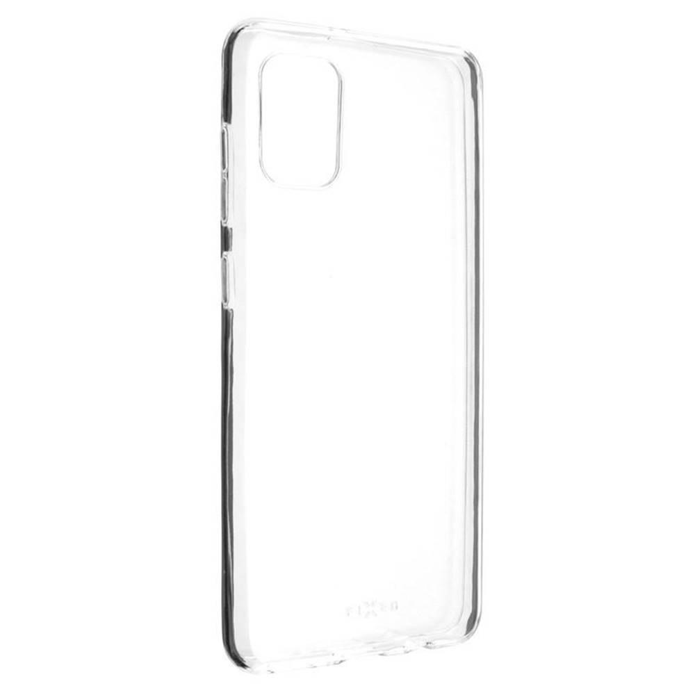 FIXED Kryt na mobil Fixed Skin na Samsung Galaxy A31 priehľadný
