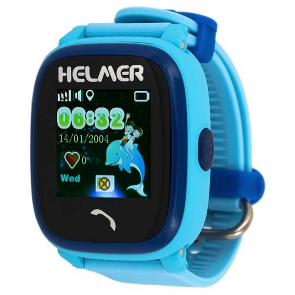 Helmer Inteligentné hodinky Helmer LK 704 dětské s GPS lokátorem modré