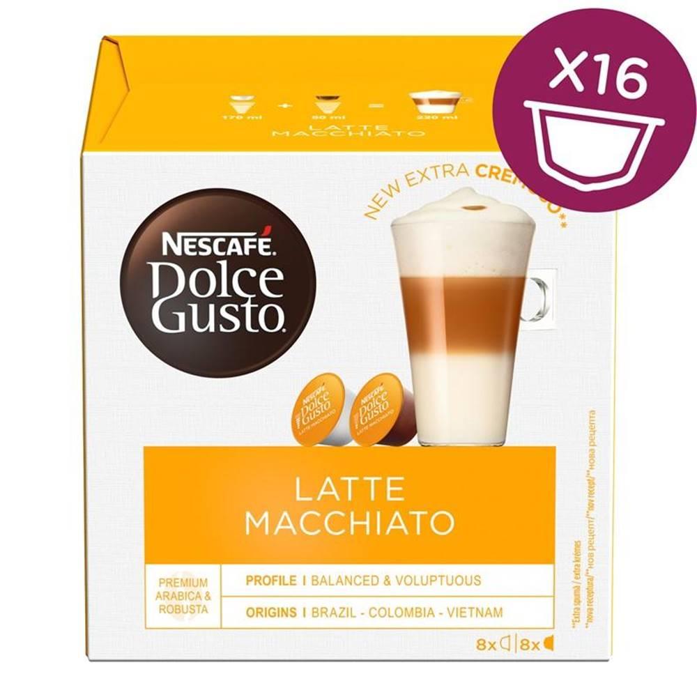Nescafé NescafÉ Dolce Gusto® Latte Macchiatto kávové kapsle 16 ks