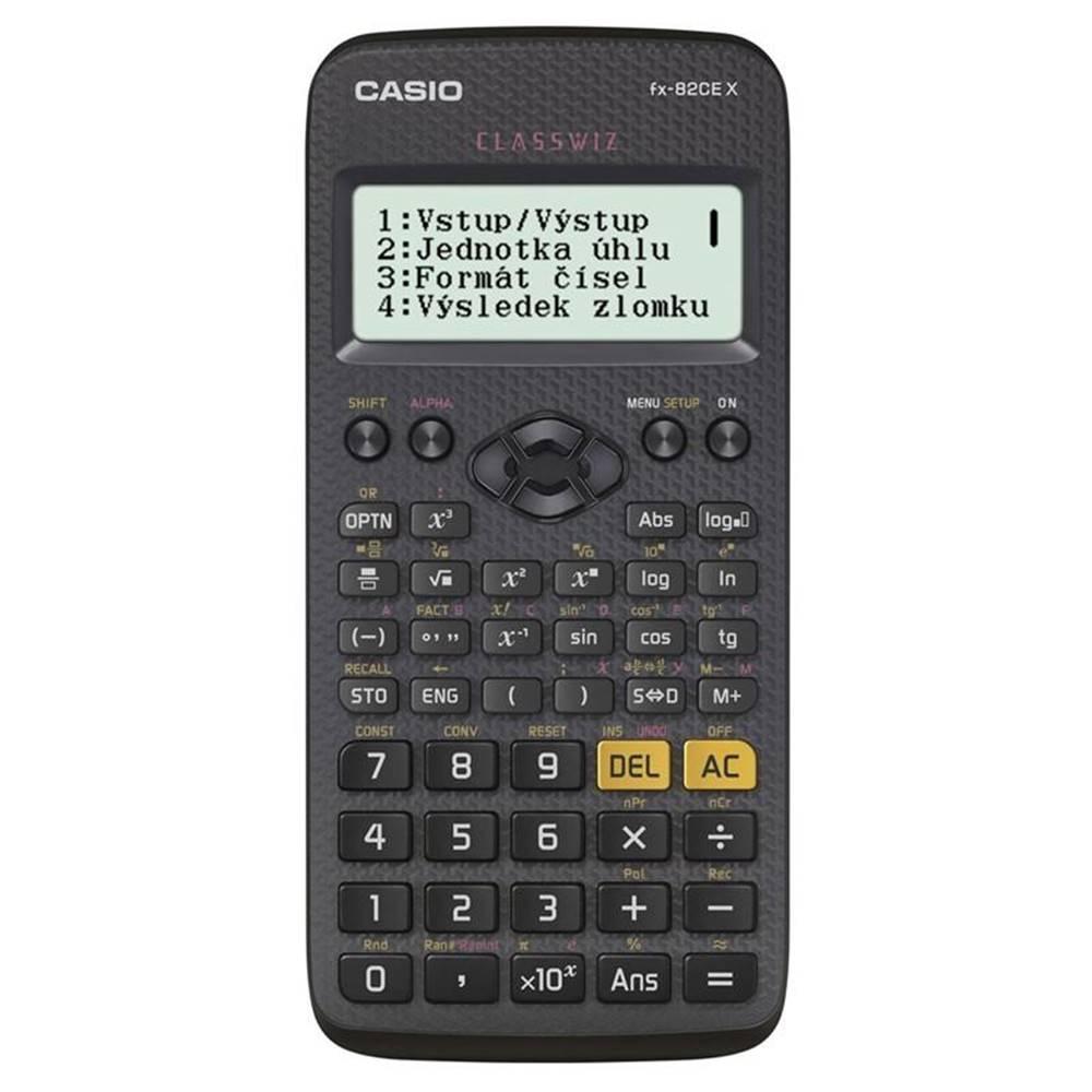 Casio Kalkulačka Casio ClassWiz FX 82 CE X čierna