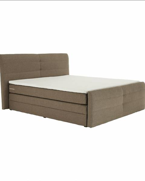 Hnedá posteľ Tempo Kondela