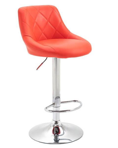 Červená stolička Tempo Kondela