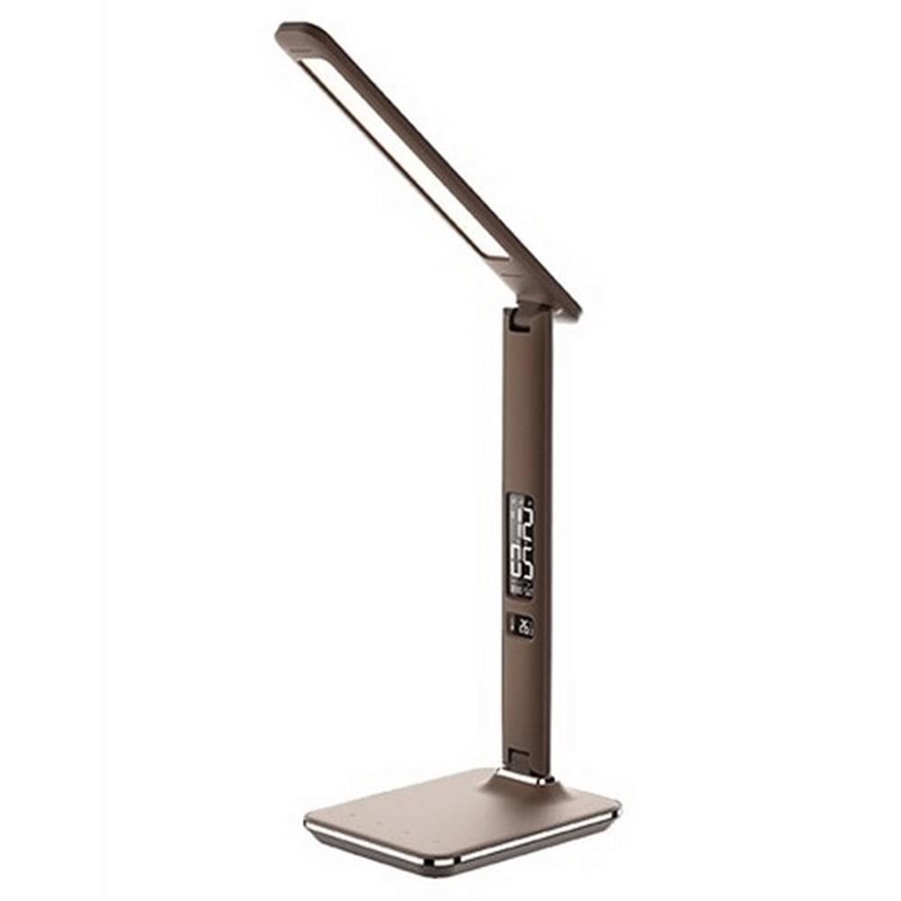 Tempo Kondela Stolná LED lampa hnedá WO45-H
