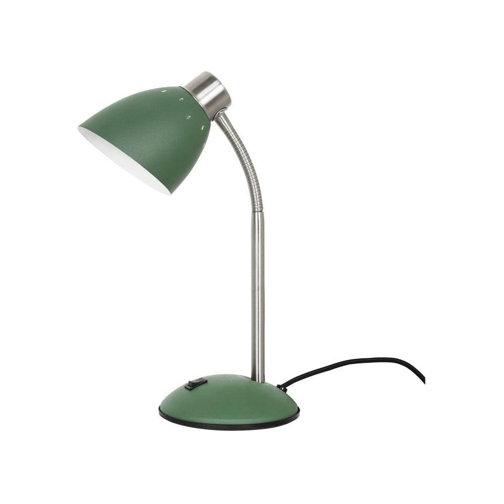 Leitmotiv Zelená stolová lampa Leitmotiv Dorm