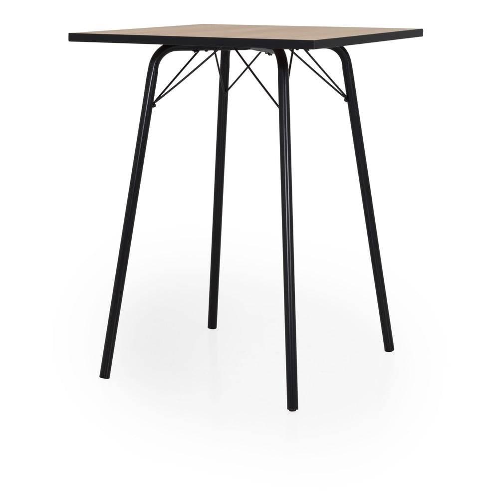 Tenzo Barový stolík Tenzo Flow, 80 x 80 cm