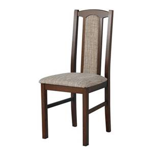 Jedálenská stolička BOLS 7 tmavohnedá