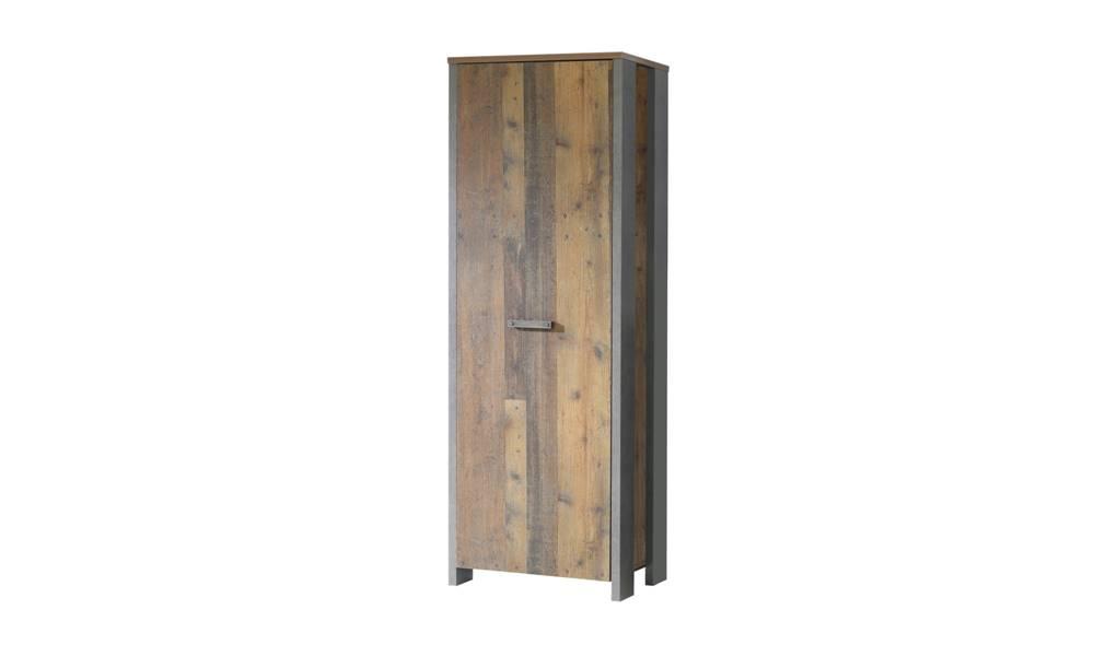 Sconto Predsieňová skriňa CLIF staré drevo/betón