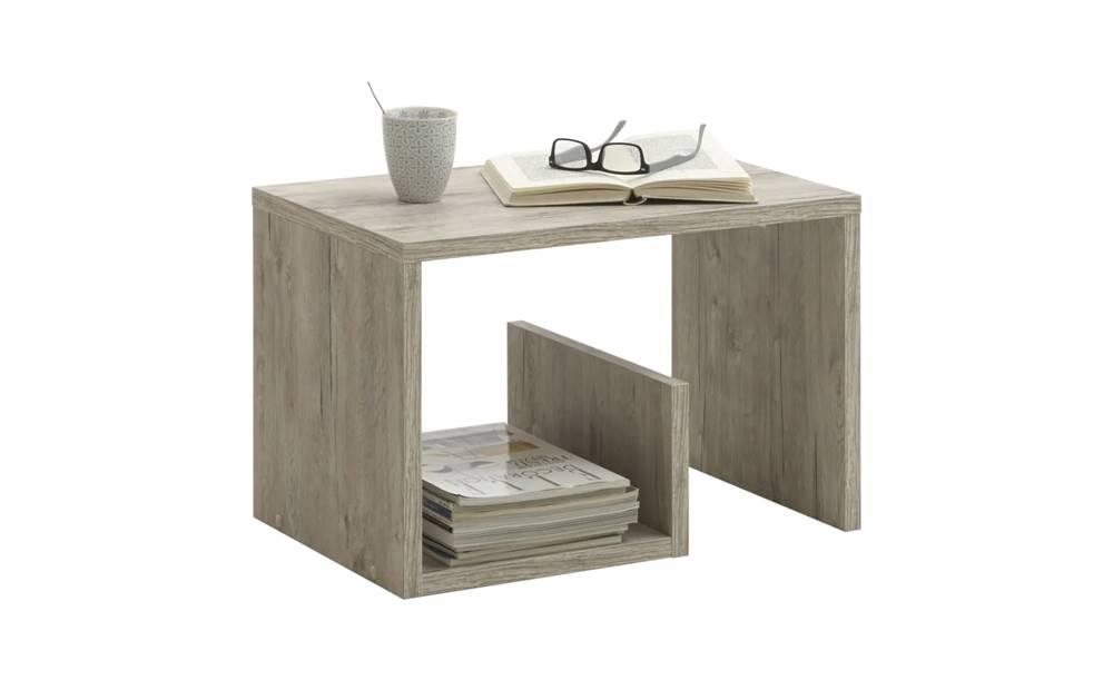 Sconto Prístavný stolík MIKE dub pieskový